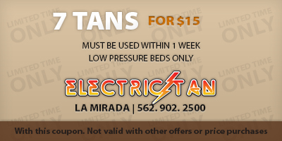 7 Tans for $15